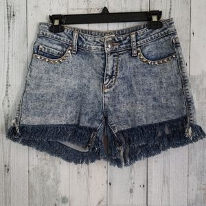 Silence and Noise Mid Rise Shorts